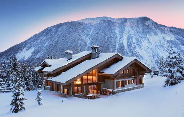 Luxury Chalet Belvedere in Courchevel 1650 Chalet rental Courchevel with In-Luxe Chalets France
